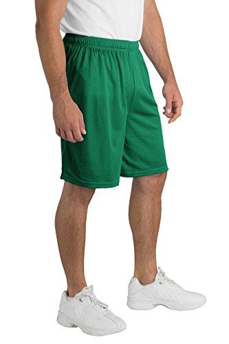 Sport-Tek -  Pantaloncini  - Uomo Verde - Kelly green