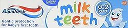 Aquafresh Toothpaste Milk Teeth 0-2 Years 50ml