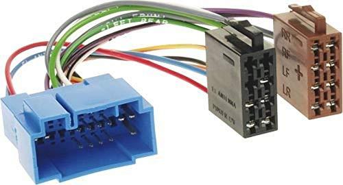 Baseline 70024 Connect Radio-Adapterkabel auf ISO Spannung Plus 4 Lautsprecher Mehrfarbig