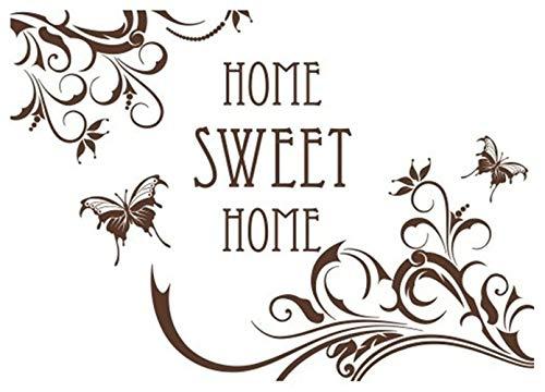 wandaufkleber kinder Zuhause Sweet Home für Wohnzimmer