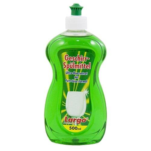 Spülmittel 500 ml LARGO Ultra Konzentrat / Geschirrspülmittel / Spüli / Spülmittelkonzentrat / Reinigungsmittel