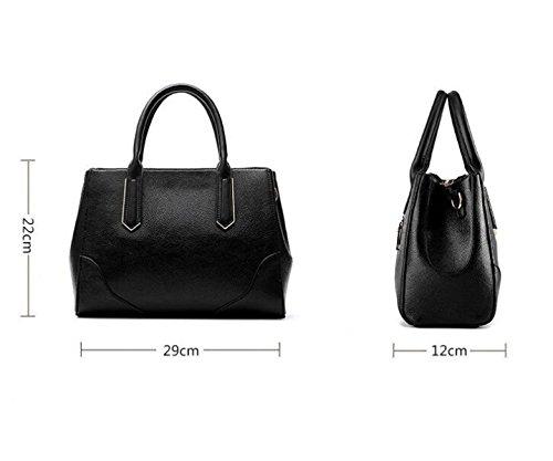 Stereotypen Süße Mode Handtaschen Messenger Bag Schulter Tasche Reißverschluss Red1