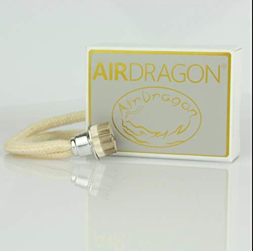 AIRDRAGON® - katalytischer Ersatz Docht mit Brenner KLEIN - für Jede kleine katalytische Lampe - Lampe-brenner