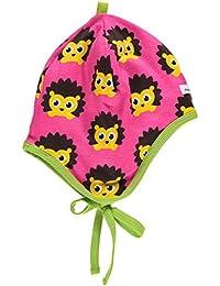 maxomorra Baby Mädchen Mütze pink Igel Hedgehog
