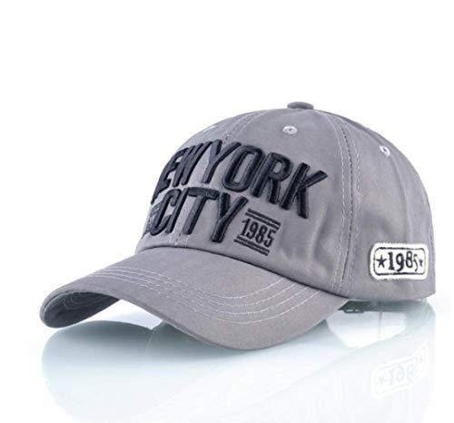 Mode Baseball Cap Männer New York City Snapback Hüte Für Frauen Marke Hip Hop Knochen Motorrad Caps Jungen Skateboard Gorras Cap 56-59 cm (Zeitgenössische Hip Hop Kostüm)
