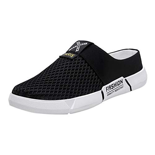 Herren Damen Laufschuhe Sneaker Straßenlaufschuhe Sportschuhe Turnschuhe Outdoor Leichtgewichts,Sommer-Weinlese-Mann-beiläufige Sandelholz-Schuh-Neue Art- und Weiseflipflop-Schuhe
