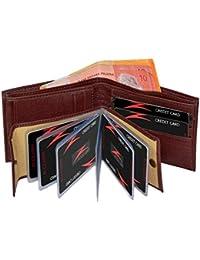 Accezory brown Men's Wallet (AC03)