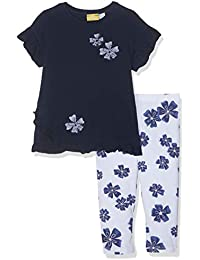 Amazon.it  leggings bambina - Blu   Completi e coordinati   Bambine ... 40e49e90910