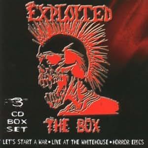 Exploited, Thr Box: Lets Start A War / Live At The Whitehouse / Horror Epics