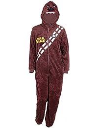 Herren Pyjama Schlafanzug / Overall / Kostüm / Onesie STAR WARS Chewbacca