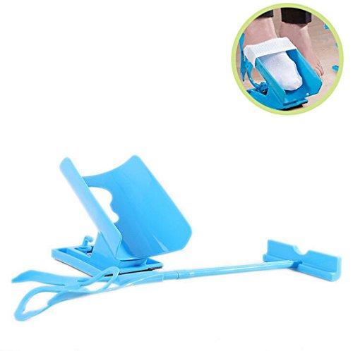 Sock Slider, Easy On/Off - Sockenhelfer Slider Kit - Schmerzfrei Kein Biege-, Stretch- Oder Straining-System, Das Für Bequeme Reise - Sockenhelfer Verpackt