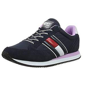 Tommy Hilfiger Damen WMNS Casual Retro Sneaker