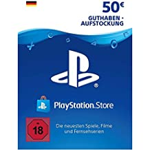 PSN Card-Aufstockung | 50 EUR | deutsches Konto | PSN Download Code