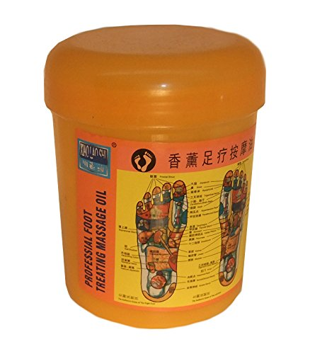 FUSS MASSAGEÖL CREME - Xiang Xun Zu Liao An Mo You - Physiotherapie, Professionelle Fußmassage, Traditionelle Chinesische Medizin,500 ml