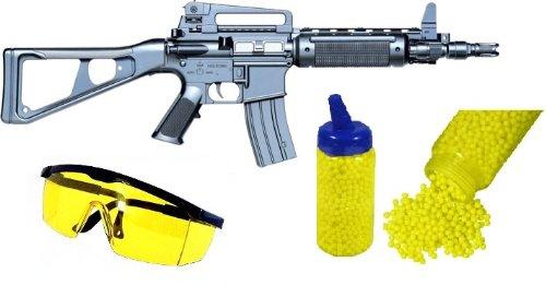 Tiger Softair Gewehr 16A8 + Schutzbrille + 1000 Kugeln