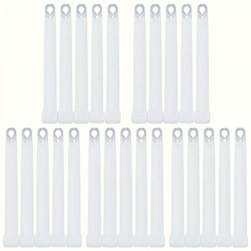 25 barras luminosas color blanco frío aprox. 8 horas
