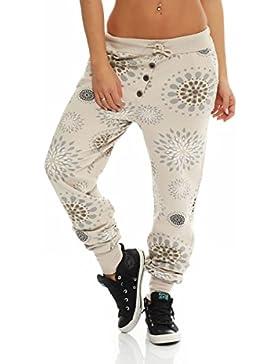 malito more than fashion Malito Urban Camouflage Boyfriend Pantalón Sweatpants Fitness Harem Aladin Bombacho Sudadera...