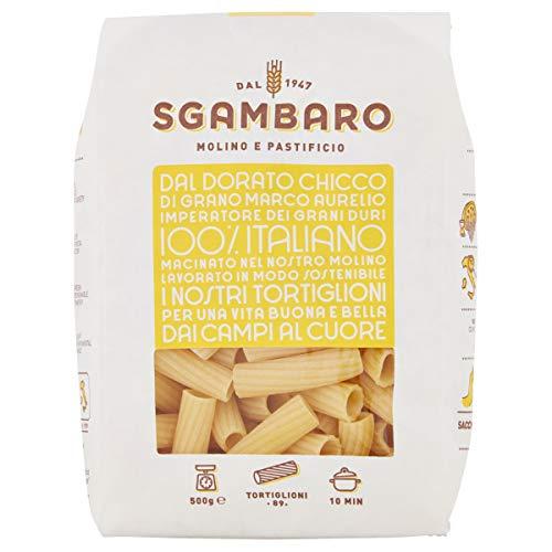 Sgambaro pasta Tortiglioni N. 89 - 500 gr