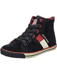 Tommy Hilfiger S3285ammie 4c, Sneakers basses garçon