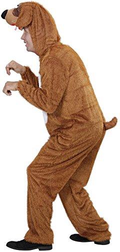 Widmann 9275B - Erwachsenenkostüm Hund, Overall mit Maske -