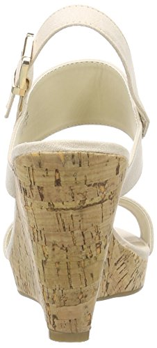 Another Wandaak2 Shoes Pair Of nude98 Plateau Durchgängies Damen Sandalen Beige 4ZW4r