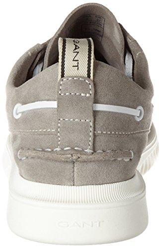 Gant Dennis, Chaussures Bateau Homme Grau (Gray)