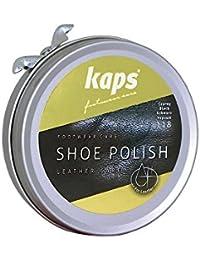 Betún para zapatos Kaps, limpia, nutre, protege y abrillanta, 5 colores