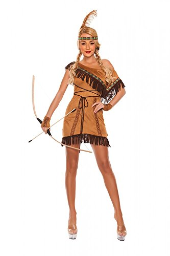 One-Shoulder Indianer-Kostüm Dream Catcher, Größe:36 (Dream Catcher Kostüme)