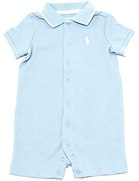 9239T pagliaccetto bimbo RALPH LAUREN layette blue romper suit kid boy