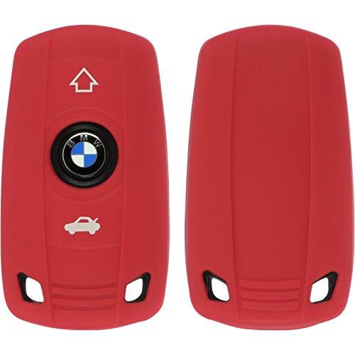 phonenatic-funda-de-silicona-para-mando-de-3-botones-de-bmw-x1-e84-x3-e83-x5-e70-en-rojo-llave-plega