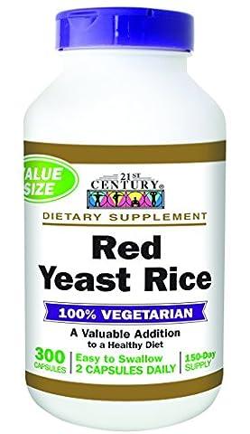 Red Yeast Rice, 300 Capsules