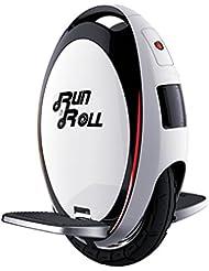 """Run & Roll Turbo Spin Advanced - Monociclo, color blanco, 12"""""""