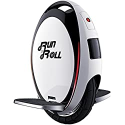 Run & Roll Turbo Spin Advanced - Monociclo, Color Blanco, 12""