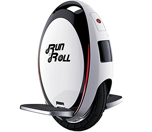 Run & Roll Turbo Spin Advanced - Monociclo, color blanco, 12