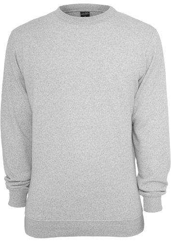 Urban Classics Melange Crewneck Sweater Blue / Whi Multicolore - Lightgrey