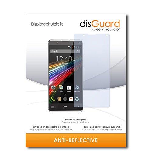 disGuard® Bildschirmschutzfolie [Anti-Reflex] kompatibel mit Energy Sistem Phone Pro Qi [2 Stück] Entspiegelnd, Matt, Antireflektierend, Extrem Kratzfest, Anti-Fingerabdruck - Panzerglas Folie, Schutzfolie