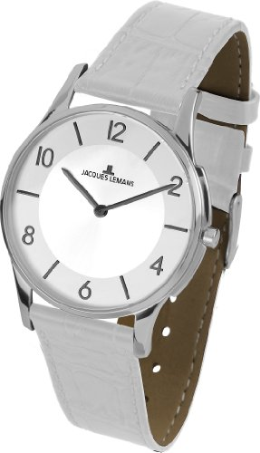 Jacques Lemans Unisex Watch London 1–1778F Analogue Display and Gold Leather