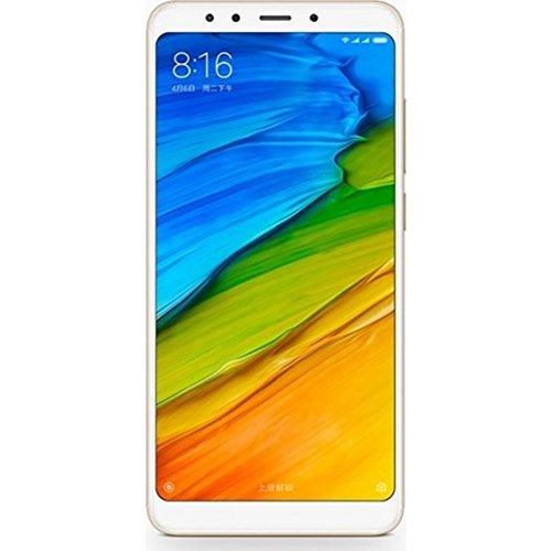 "Xiaomi Redmi 5 Dual SIM 4G 32GB Gold - Smartphones (14.5 cm (5.7""), 1440 x 720 pixels, 32 GB, 12 MP, Android, Gold)"