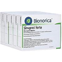 SINUPRET forte überzogene Tabletten 100 St Überzogene Tabletten preisvergleich bei billige-tabletten.eu
