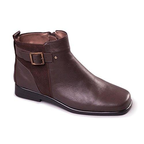 aerosoles-berberry-ladies-leather-buckle-ankle-boots-dark-brown-uk-7