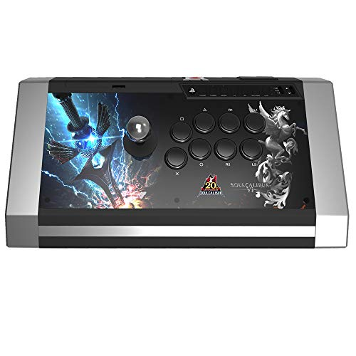 Arcade Stick Qanba - Obsidian - Soul Calibur 6 Edition - Pro Fightstick  with buttons - Joystick Sanwa compatible PS3 / PC - Jack 3,5 mm