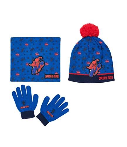 guanti spiderman Spider-Man Confezione da 3 pezzi: sciarpa