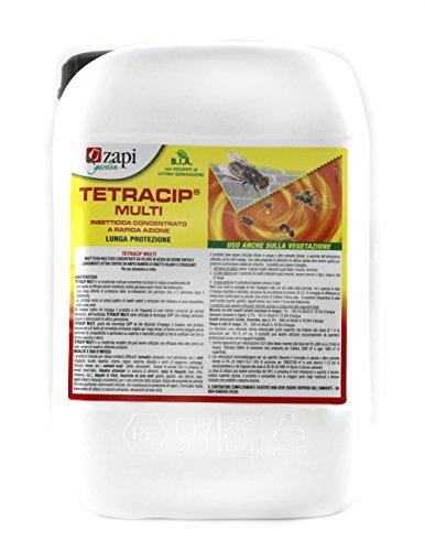 Tetracip multi insetticida concentrato a rapida azione e lunga protezione in confezione da 5 lt