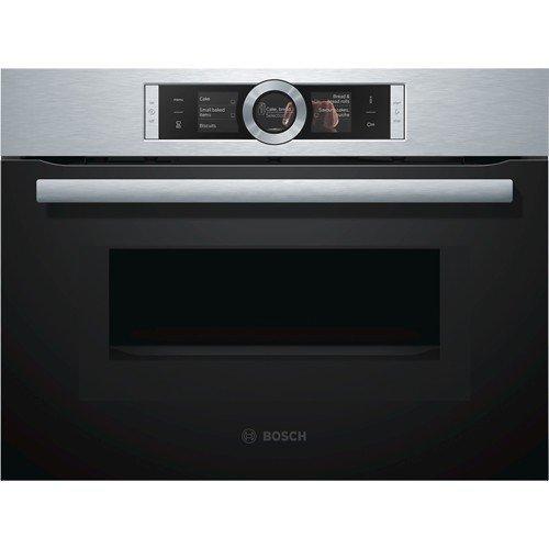 Bosch CMG636BS1 four - fours (Moyenne, Intégré, Electrique, Acier inoxydable, toucher, Électronique)
