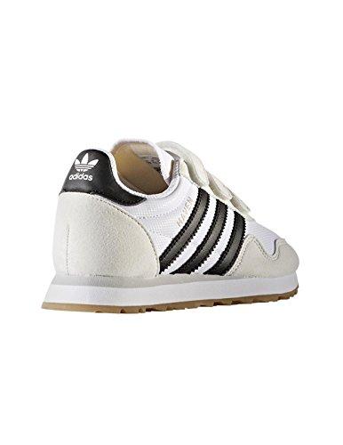 adidas Haven Cf C, Chaussures de sport mixte enfant Blanc (Ftwbla / Negbas / Ftwbla)