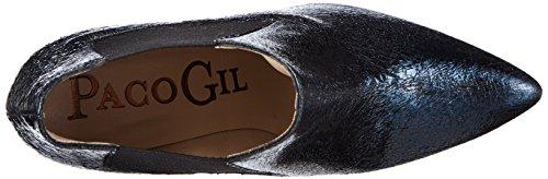 Paco Gil P2795, Stivali classici imbottiti a gamba corta donna Blu (Blu navy)