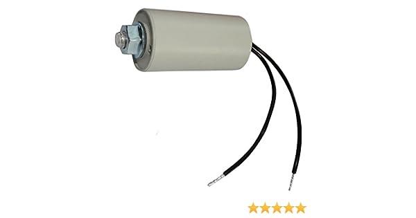 Aerzetix Condensateur Permanent de Travail pour Moteur 5/µF 425V avec cosses /Ø28x55mm /±5/% 10000h C18663