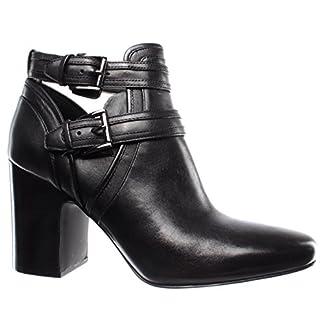 Michael Kors Women's Shoe Heel Boots Blaze Ankle Boot Leathe 40T8BLHB5L Black