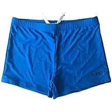 Eono Essentials, pantaloni da bagno, da uomo, taglia S, colore blu