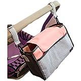 iSuperb® Cochecito Organizador Bolsa Cochecito Accesorios Bebé Pañal Bolsa de cochecito carrito organizador almacenamiento